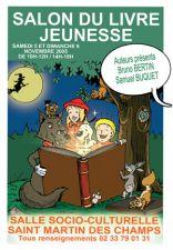 Salon du livre jeunesse St Martin des Champs